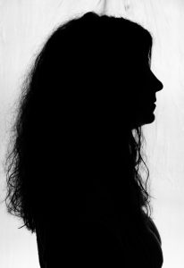 Am I invisible in conversations? A silhouette of the author of the piece